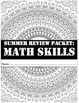 Summer Review Packet-Math Skills UPDATED!