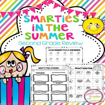 Summer Review Packet-Second Grade