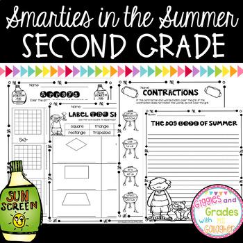 Summer Review Packet-Second Grade