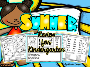 Summer Review Packet by Kinder League