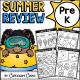 Summer Review Packet for Pre-K {Distance Learning}