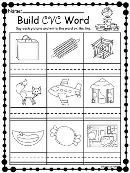 Summer Review Packet (kindergarten)