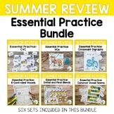 Summer Review Phonics Activities Bundle