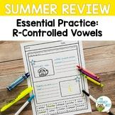 Summer Review: R-Controlled Vowels   Phonics Packs Activit