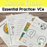 Summer Review: VCe | Phonics Packs Words Activities Worksh