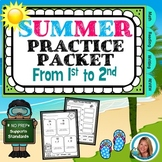 #HelloSUMMER End of the YEAR Summer Packet From 1st grade to 2nd