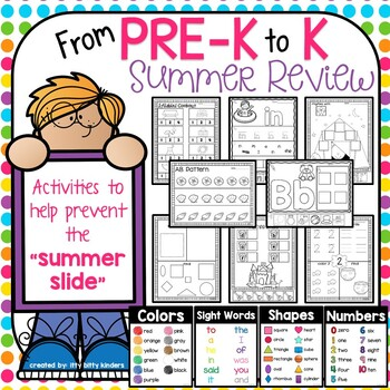 Summer Packet Review Pre K