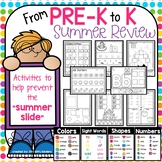 Summer Packet Review Pre K, end of year