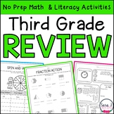 Summer Review   Third Grade   Distance Learning