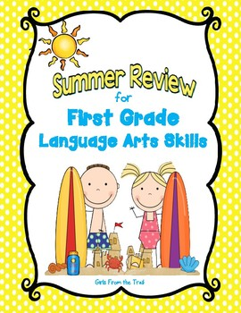 Summer Review for First Grade Language Arts
