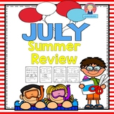 Review for Kindergarten and First Grade {July}