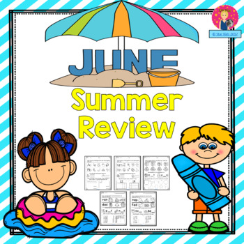 Summer Review for Kindergarten and First Grade {June}