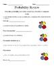 Pre-Algebra Review Worksheets