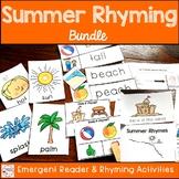 Summer Rhyming Activities Bundle