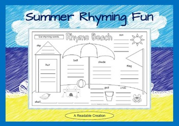 Summer Rhyming Fun