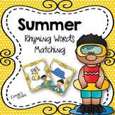 Summer Rhyming Words