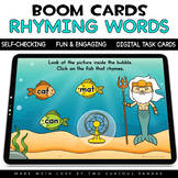 Summer Rhyming Words for Boom Cards™