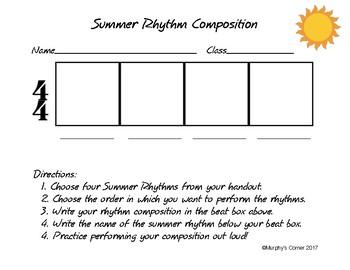 Summer Rhythm Composition