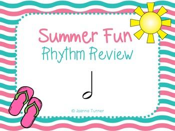 Summer Rhythm Review (Half Note)