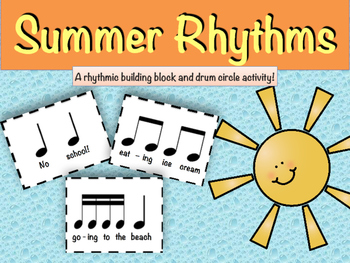 Summer Rhythms Composition & Drum Circle Activity