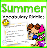 Summer Riddles ~ Inference, Key Details, and Vocabulary