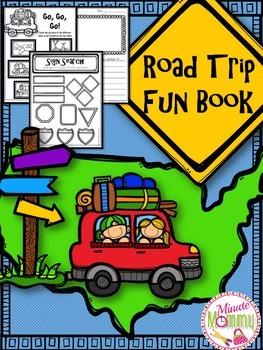 Summer Road Trip Fun Book {K-2}