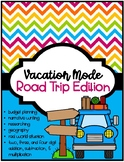 Summer Road Trip -- A Reading & Math Research Project