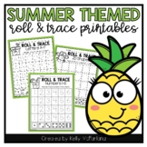 Summer Roll & Trace Letters, Numbers, Shapes