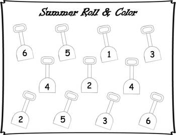 Summer Roll and Color {FREEBIE}