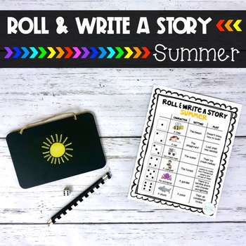 Summer Roll and Write a Story
