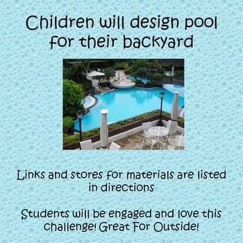 Summer STEAM -  Design a Pool