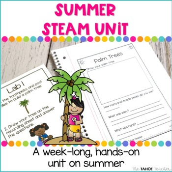 Summer Science Unit | STEAM Centers for Primary Grades