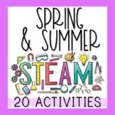 Spring & Summer STEM Activities