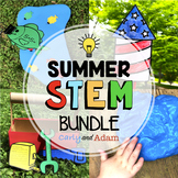 Summer STEM Activities and Summer STEM Challenges BUNDLE