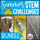 Summer STEM Activities BUNDLE (Summer STEM Challenges)
