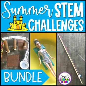 Summer STEM Activities BUNDLE (Summer STEM Challenges)