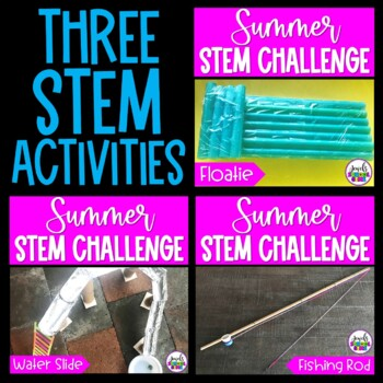 Summer STEM Activities and Challenges BUNDLE
