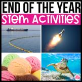 End of Year Activities STEM Bundle| Summer STEM Activities