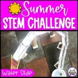 Water Slide Summer STEM Activity and Challenge