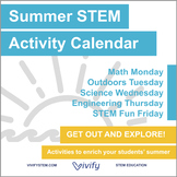 STEM Summer Activity Calendar: Fun with Math, Science, and