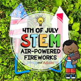 Fourth of July Air-Powered Fireworks Summer STEM Challenge