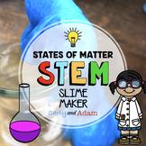 Summer STEM Activity: Slime STEM Challenge with States of Matter Integration