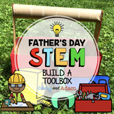 Toolbox Father's Day STEM Challenge with Father's Day Gift