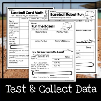 STEM Baseball Challenges