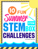Summer STEM Box Challenges { Distance Learning }