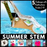Summer STEM Challenge / End of the Year STEM Challenge Bundle