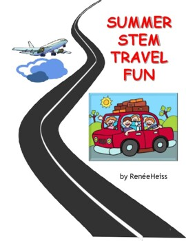 summer stem travel fun downloadable booklet by all american teacher
