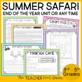 End of the Year: Summer Safari Unit | Summer Safari Unit for Summer School