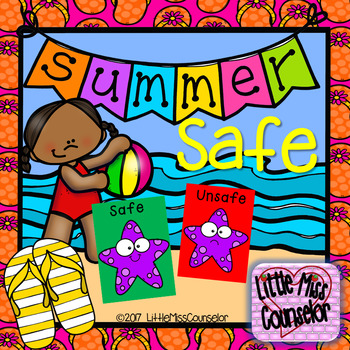 Summer Safe Kids:  Green and Red Safety Choices PowerPoint
