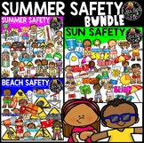 Summer Safety Clip Art Bundle {Educlips Clipart}